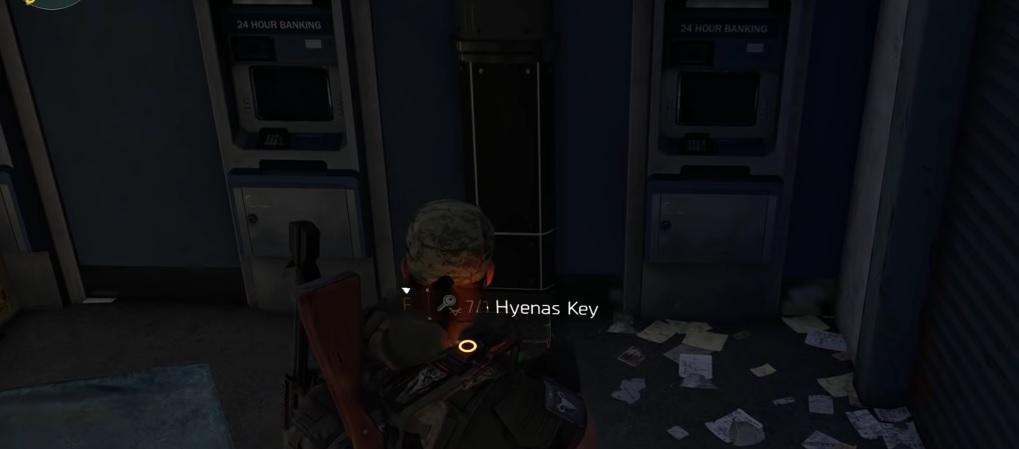 division 2 hyena schlüssel