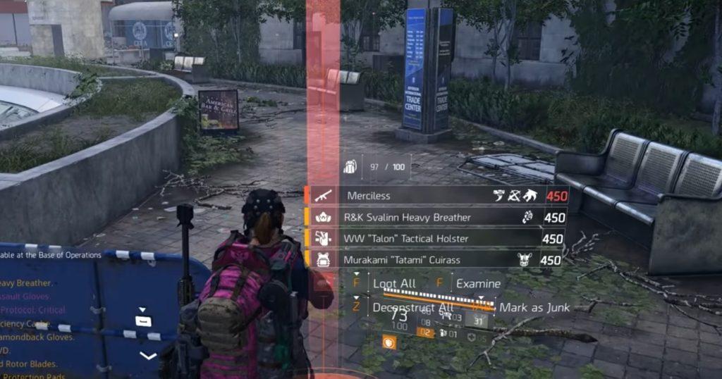 division 2 elfenbeinschlüssel bug