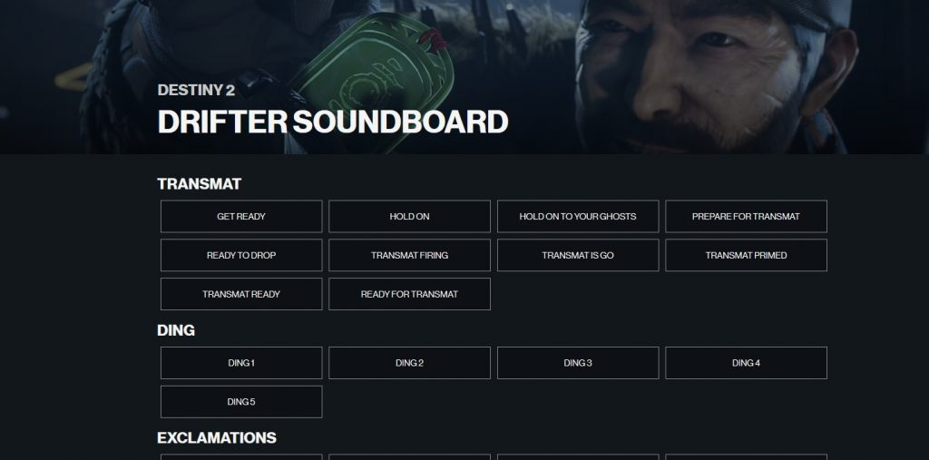 drifter-soundboard-destiny 2
