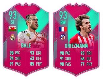 Bale ST (93) - Griezmann RW (93)