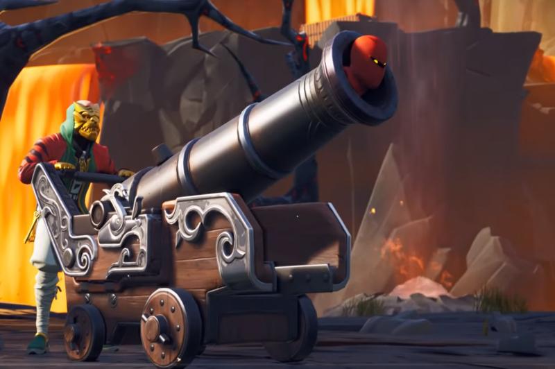 Fortnite Season 8 Kanone Pirat