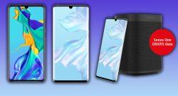 Huawei P30 und P30 Pro vorbestellen und Sonos One gratis sichern
