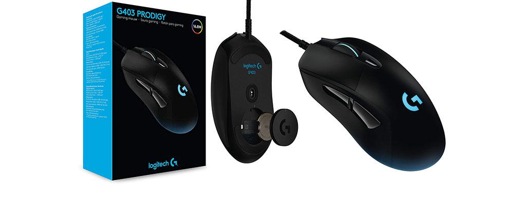 Logitech G403 Prodigy Gaming-Maus zum Bestpreis