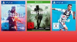 Gönn dir Dienstag bei MediaMarkt mit Spielen für PS4 und Xbox One