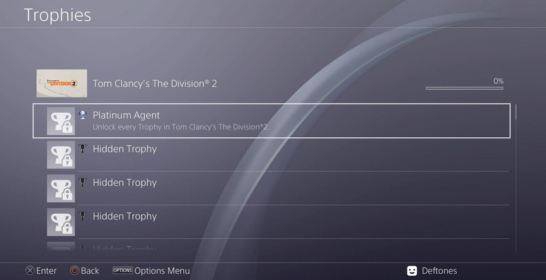 the division 2 platin