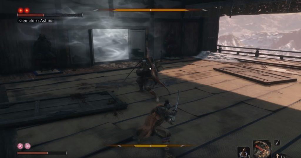 sekiro shadows die twice kampf posture balken