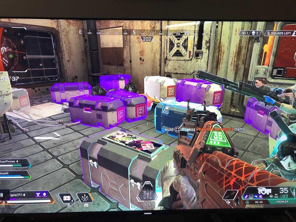 Apex Legends Death Boxes Loot Cave