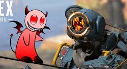 Apex Legends Pathfinder Fire Titel Teufel