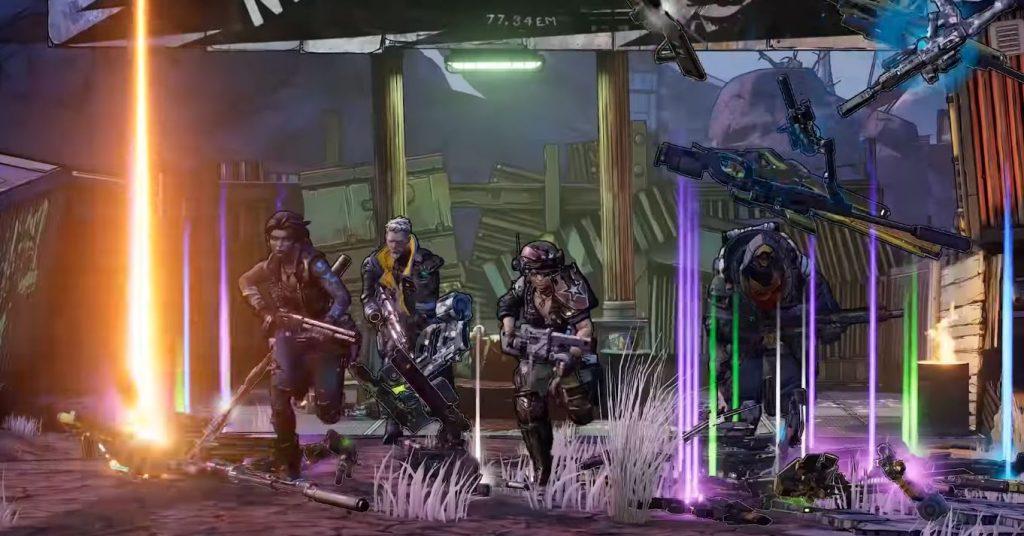 Borderlands 3 Charaktere Waffen