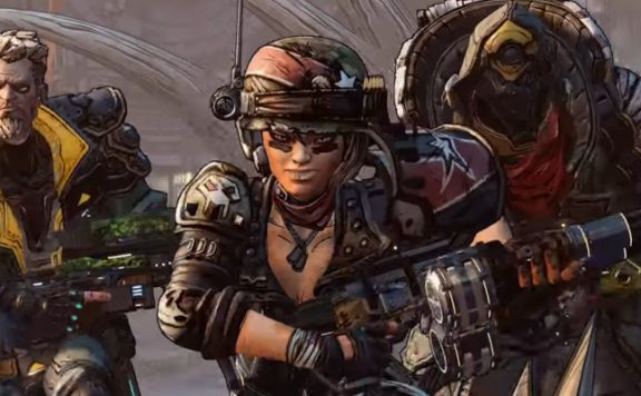 Borderlands 3 Heroes title
