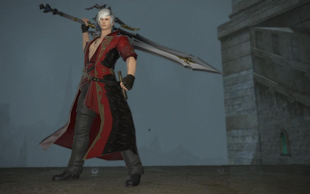 final fantasy xiv dante cosplay