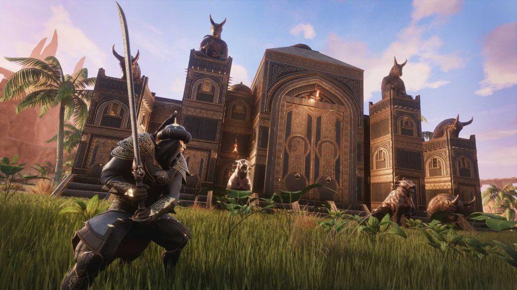 Conan Exiles Turan DLC persische Festung