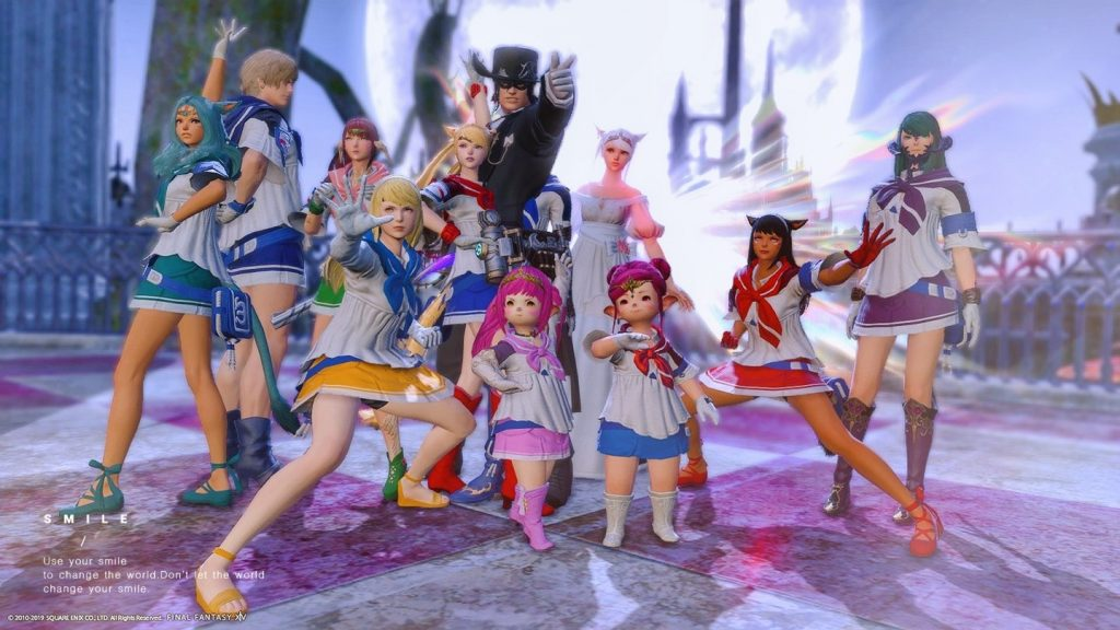 final fantasy xiv sailor moon cosplay