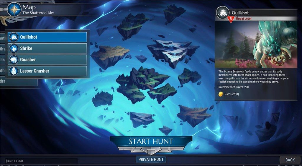 Dauntless neue Map