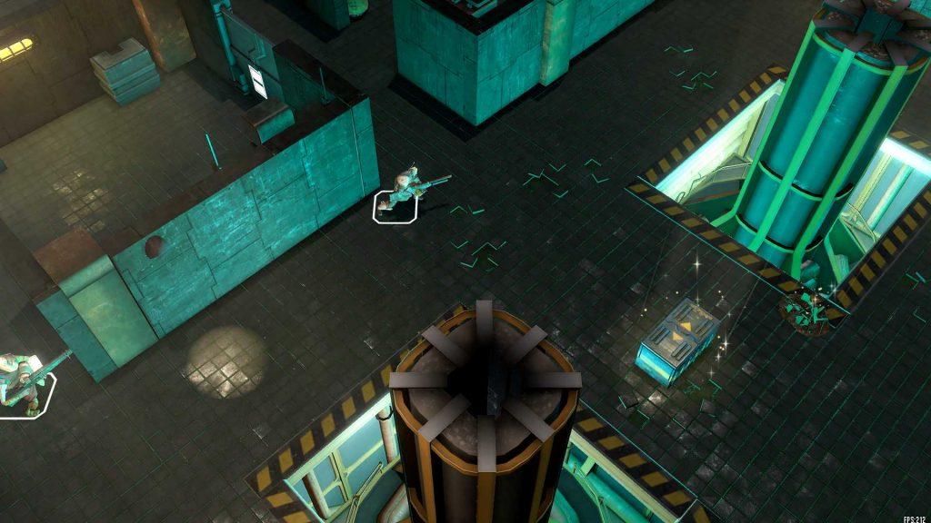 Dreadlands Screenshot in einer Halle