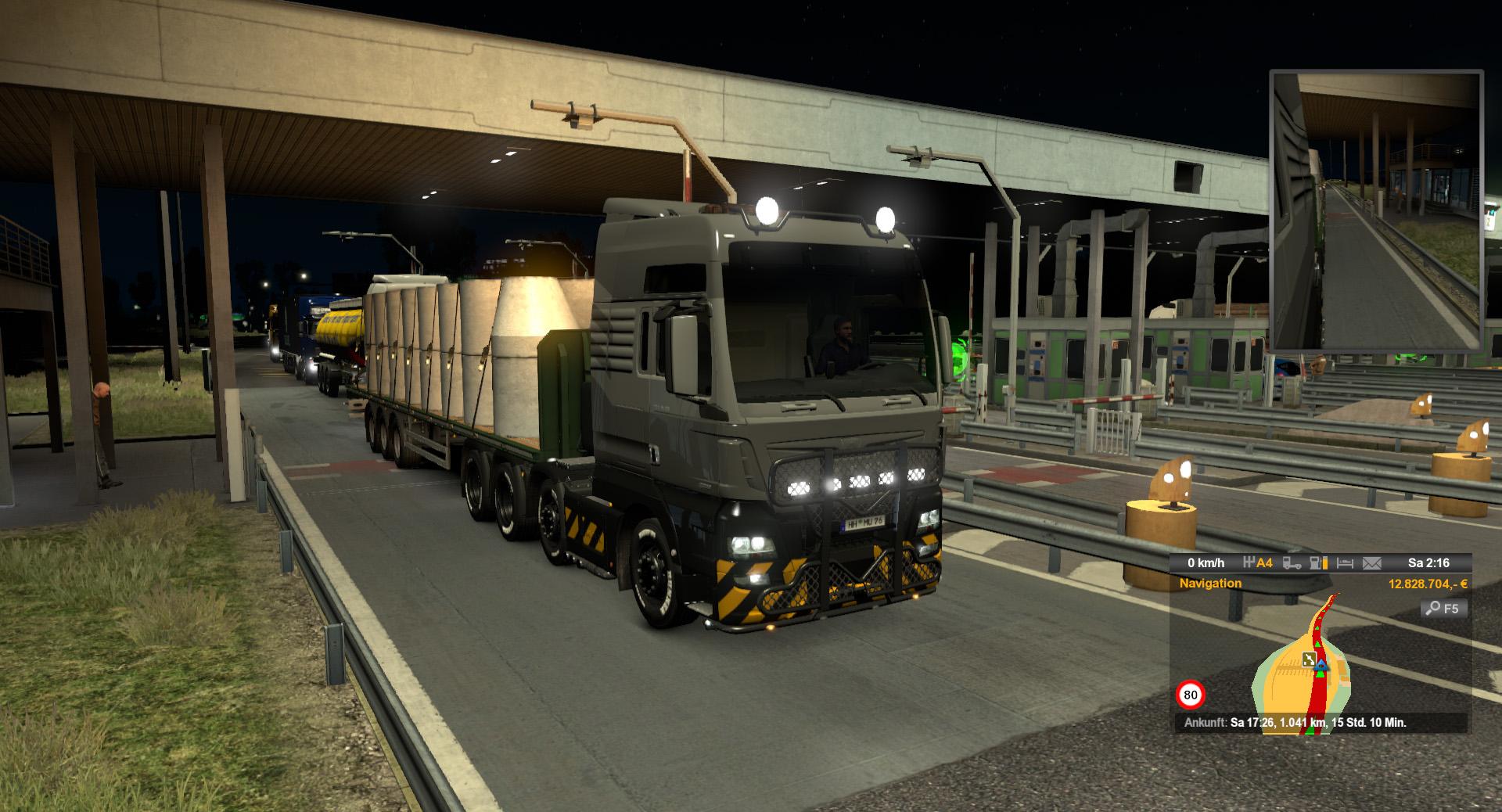 euro truck simulator 2 wenn multiplayer nerven steige. Black Bedroom Furniture Sets. Home Design Ideas