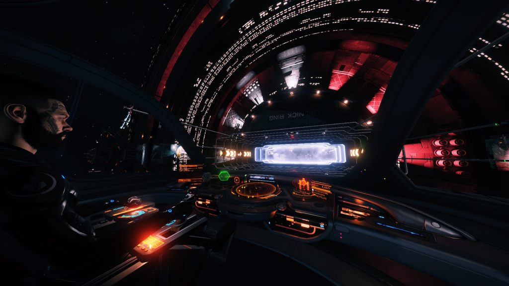 Elite Dangerous docking