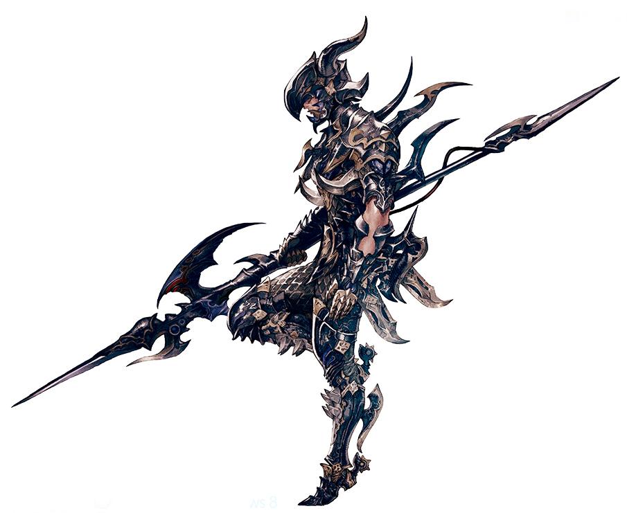 final fantasy xiv dragoon rüstung