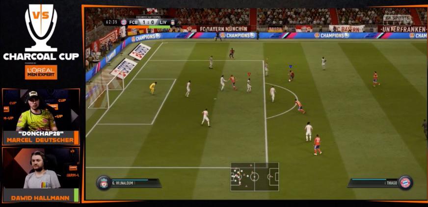 FIFA19 DonChap Defensive Ausrichtung