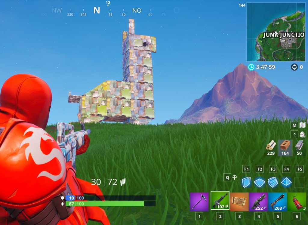 Fortnite Llama Fundort Map