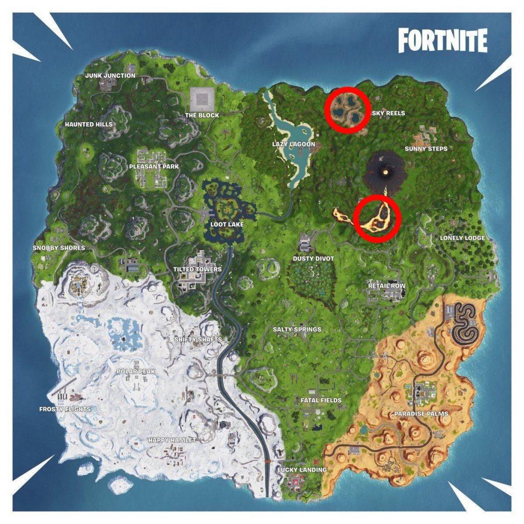 Map Woche 9 Geysire