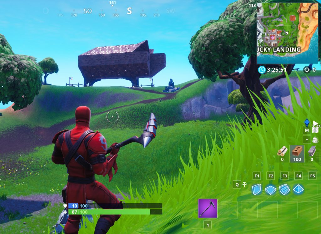 Fortnite Schwein Fundort Map