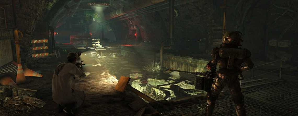 Baut Fallout 76 gerade etwa eine ganze Stadt im Untergrund?