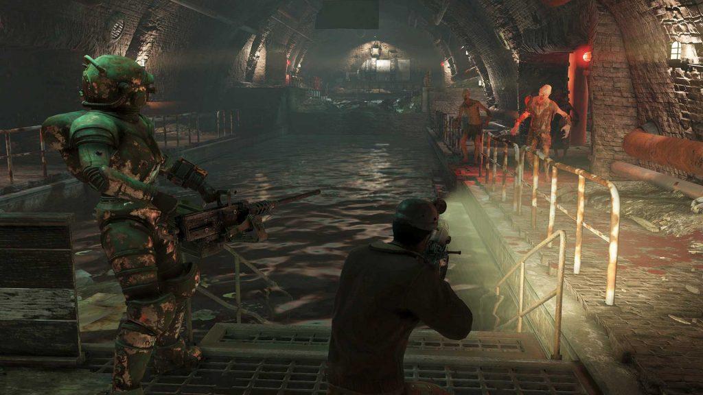 Fallout 76 DIe Höhlen Dungeon mit 2 Spielern und Ghulen