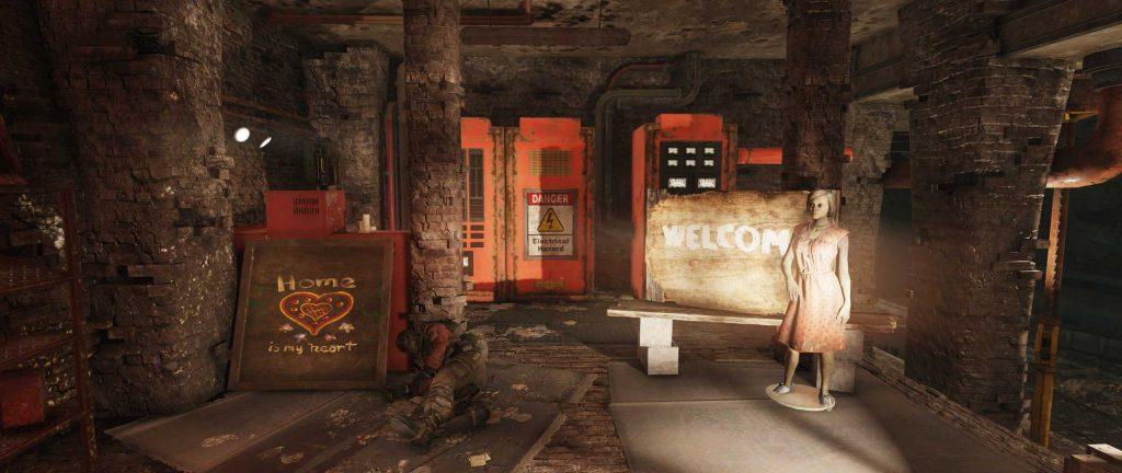 Fallout 76 Höhlen EIngang von innen
