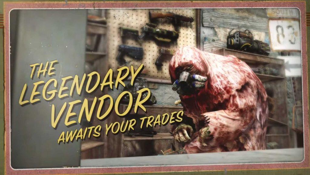 Fallout 76 Legendärer Händler aus dem Trailer
