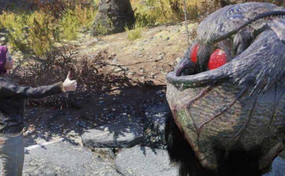 Fallout 76 Mothman Selfie 3 Titel neue Größe
