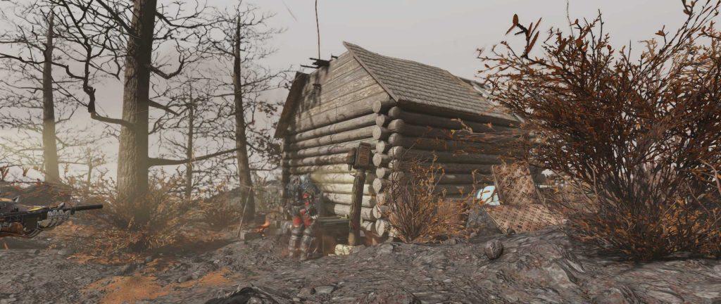 Fallout 76 Sheepsquatch Event Hütte