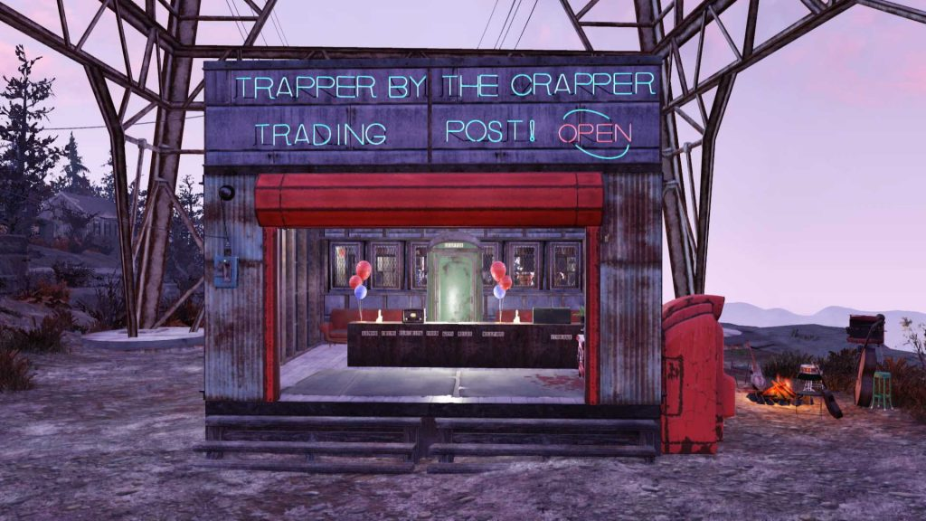 Fallout 76 Trapper by the Crapper Spieler-Shop