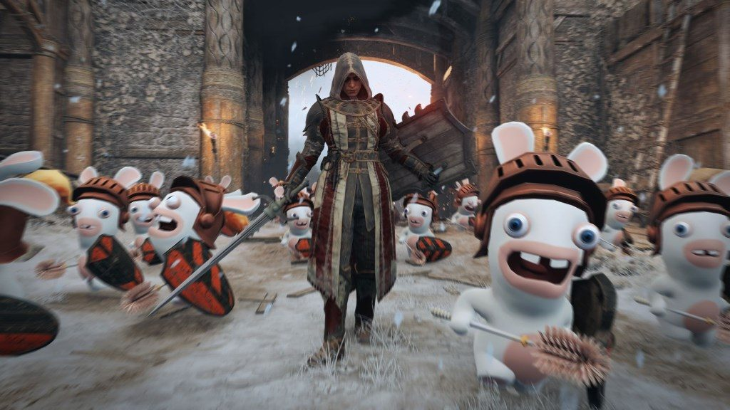 For Honor Rabbids Aprilscherz Screenshot