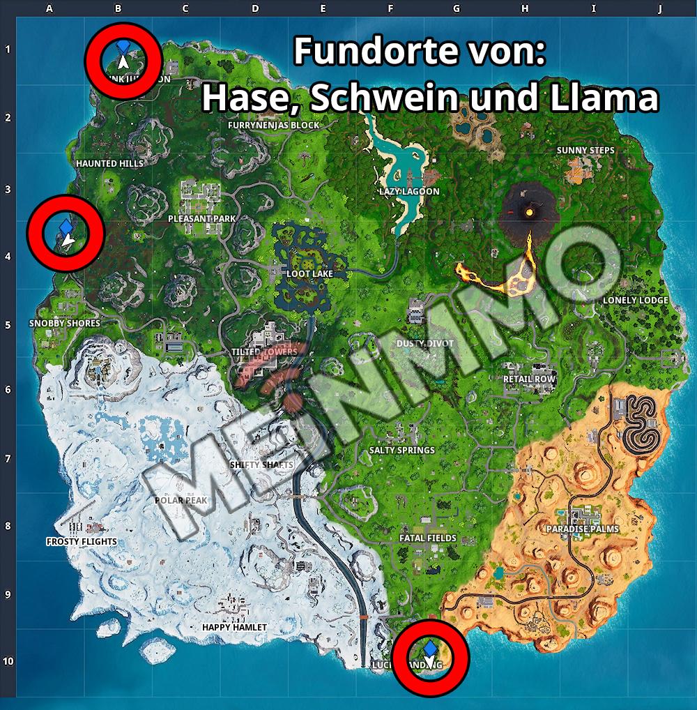 FN Map Hase Schwein Llama