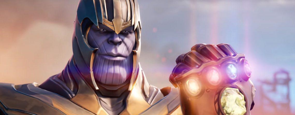 Ich war gestern Thanos in Fortnite und hab sowas von feige gespielt