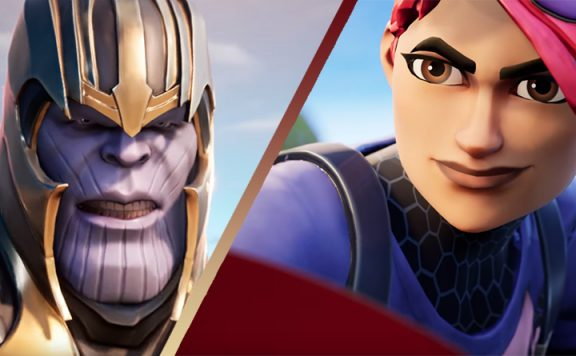 Fortnite Thanos Avengers Titel