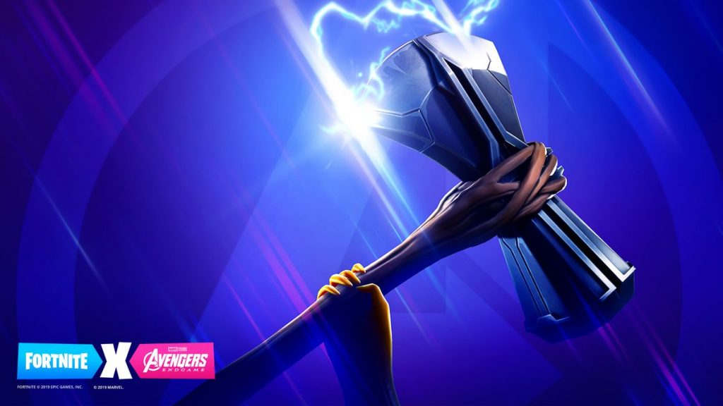 Fortnite Thor Axt Teaser