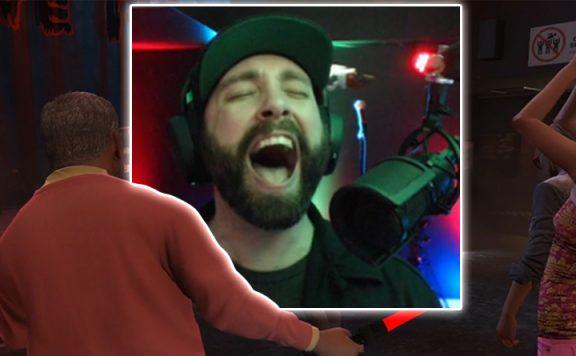 GTA 5 Online MikeTheBard Titel Singen Bar