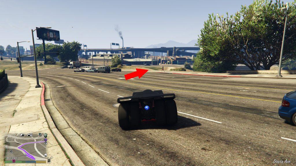 GTA Online Zeitrennen Maze Bank Quer drüber
