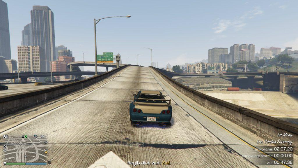 GTA Online Zeitrennen abbiegen1