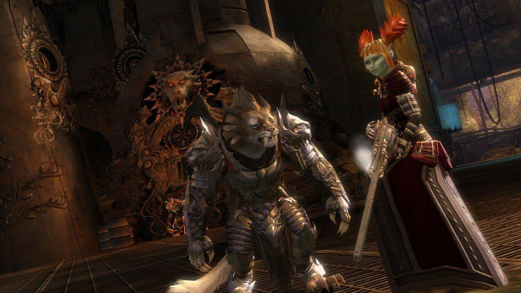 Guild Wars 2 Scarlet Dornstrauch