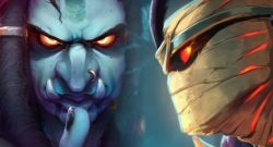 Hearthstone Evil Guys close up title