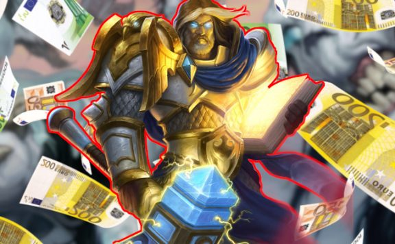 Hearthstone Uther Money title