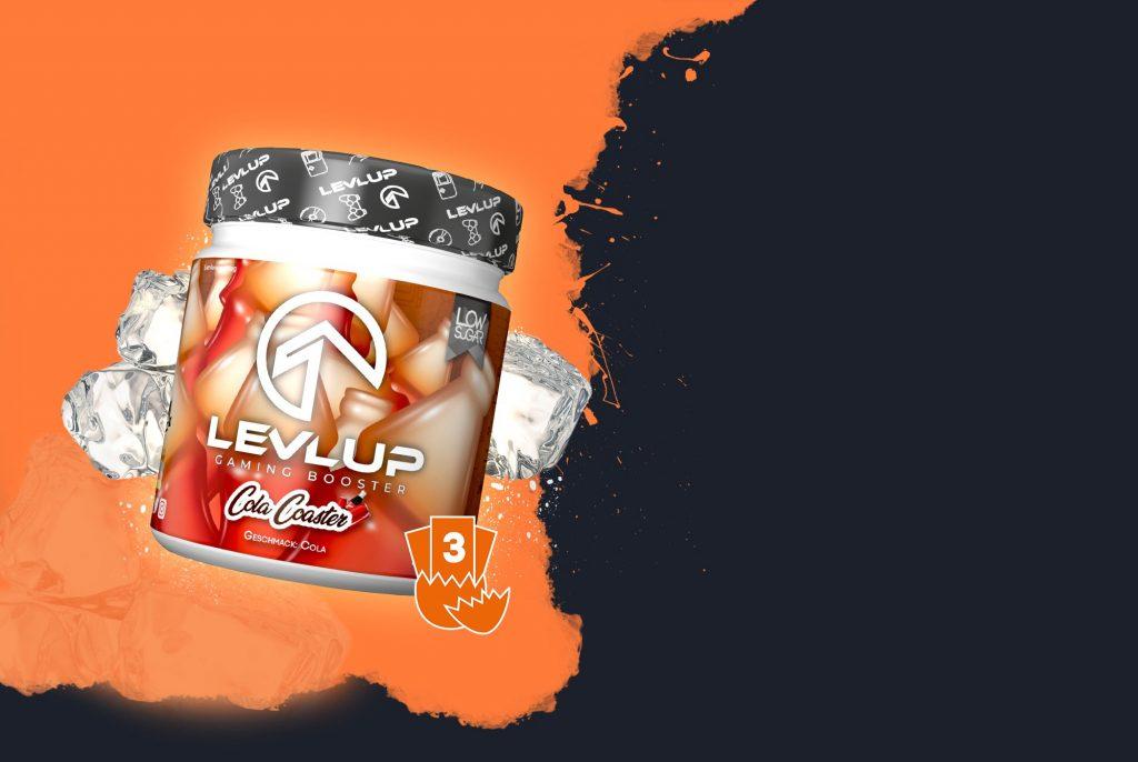 LevlUp cola coaster