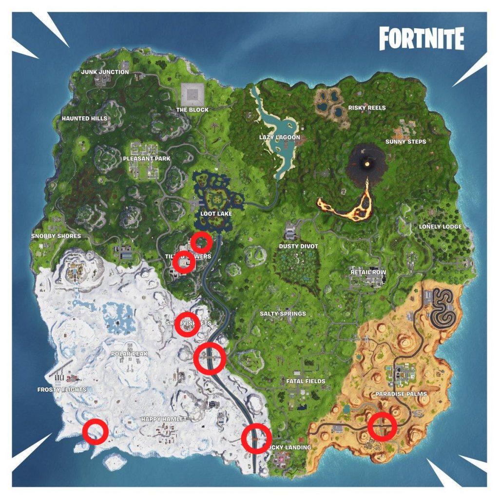 Map Fortnite