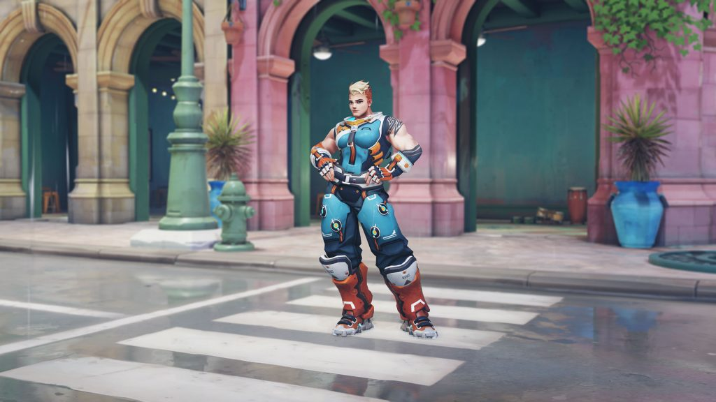 Overwatch Archives Zarya Racer