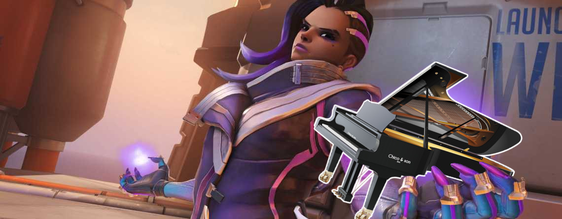 "Fan spielt die ""Game of Thrones""-Musik in Overwatch, indem er aufs Klavier ballert"