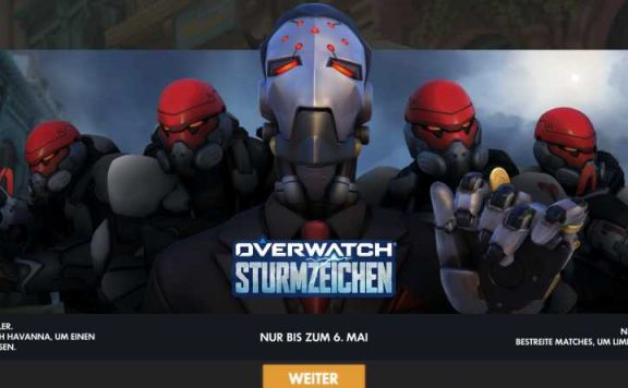 Overwatch Sturmzeichen Event Titel