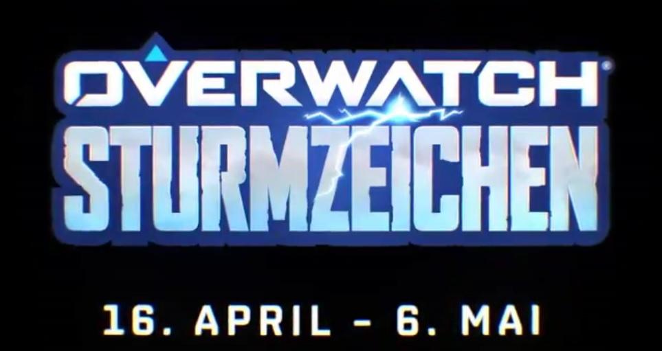 Overwatch Sturmzeichen Event logo